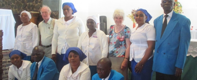 St Peter's Anglican link Parish Partnership Benefits Needy